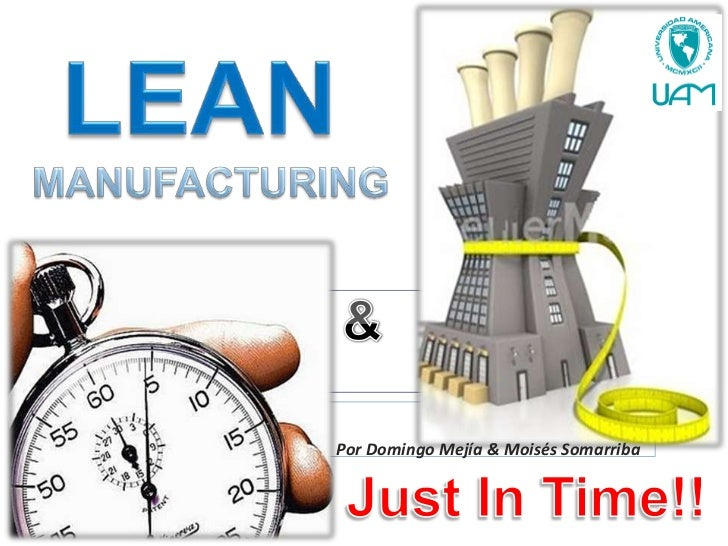 Just in time lean manufacturing costco