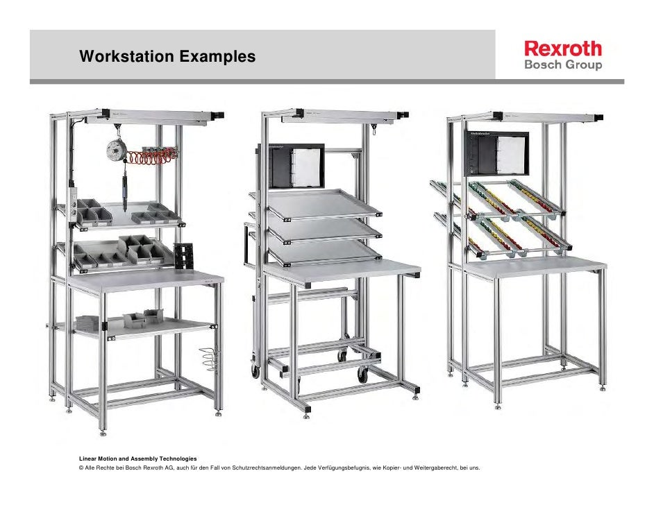 Ergonomic Assembly Workstation : Lean manufacturing and ergonomic workcell design