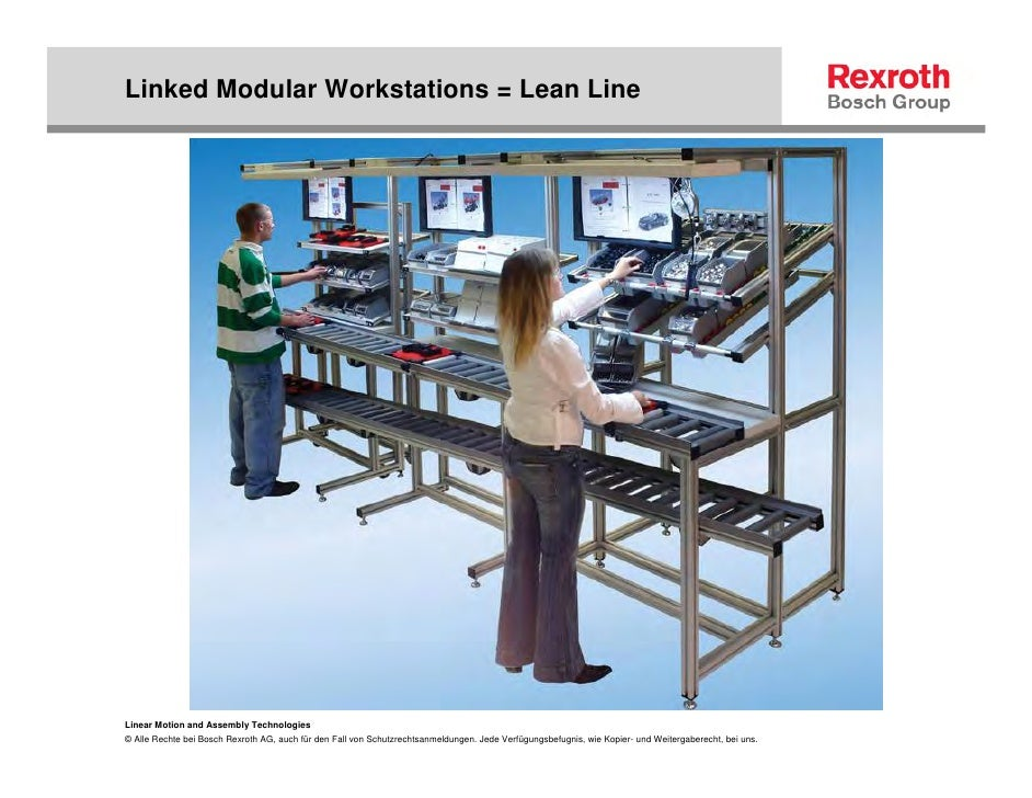 Lean Manufacturing And Ergonomic Workcell Design