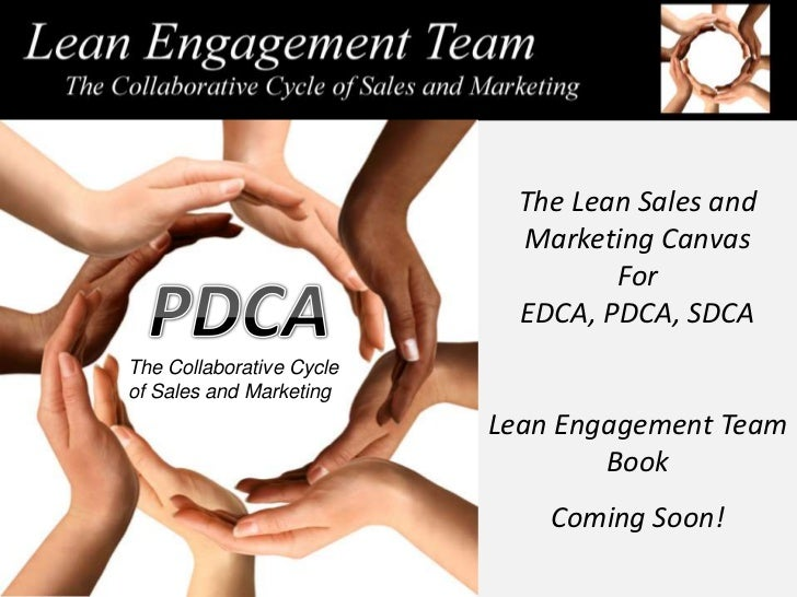 The Lean Sales and                            Marketing Canvas                                   For                      ...