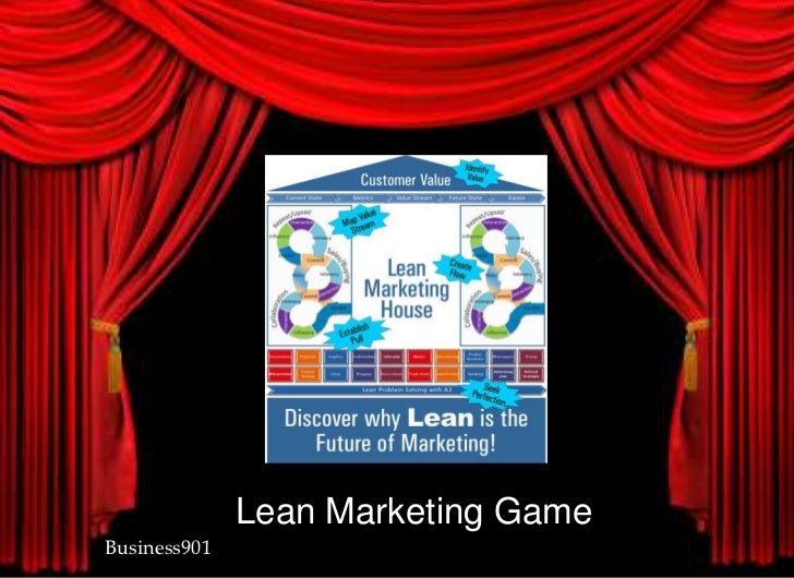 Lean Marketing Game <br />Business901<br />