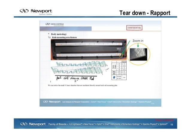 19 Newport Confidential Tear down - Rapport