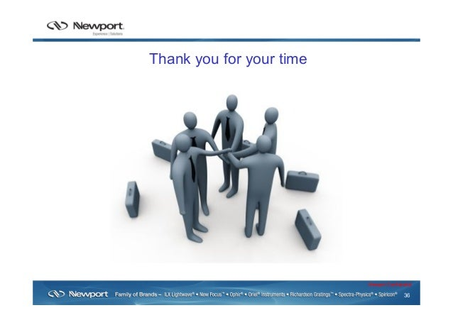 36 Newport Confidential Thank you for your time