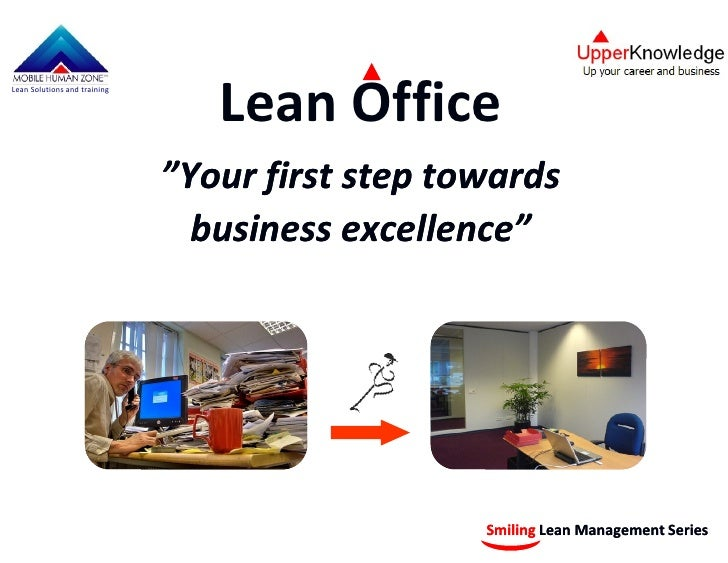 "Lean Office Lean Solutions and training                                   ""Your first step towards                        ..."