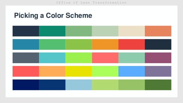 Powerpoint Template Color Scheme Gallery Template Design Free Download