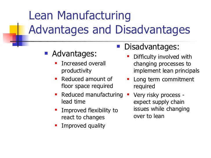 Craft Manufacturing Vs Lean Manufacturing