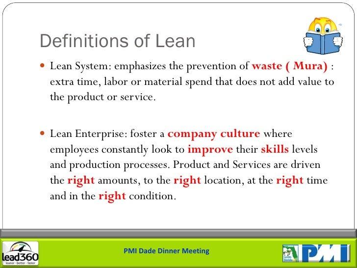 Lean Project Management Principles