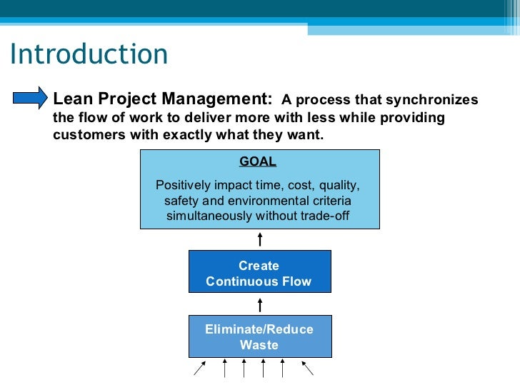 lean project management Lean project management has 30 ratings and 0 reviews lean project management takes you through all of the steps to plan and execute projects using the e.