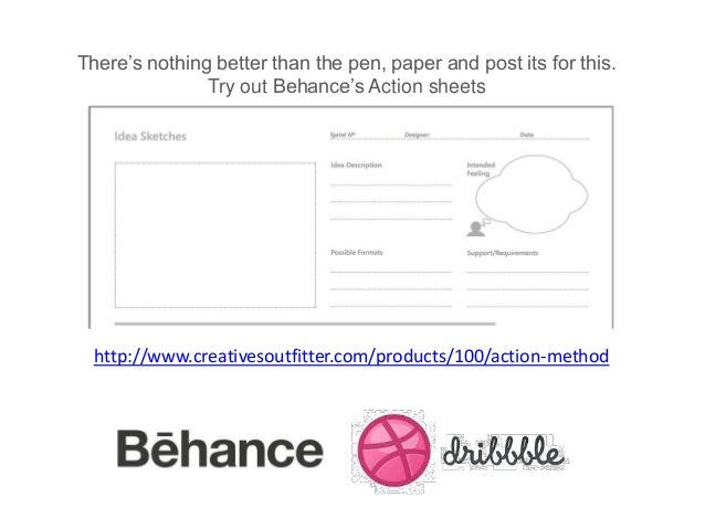 There's nothing better than the pen, paper and post its for this. Try out Behance's Action sheets  http://www.creativesout...