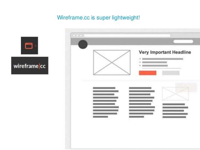 Wireframe.cc is super lightweight!