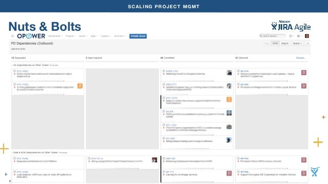 SCALING PROJECT MGMT  Nuts & Bolts