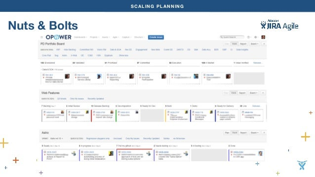 SCALING PLANNING  Nuts & Bolts