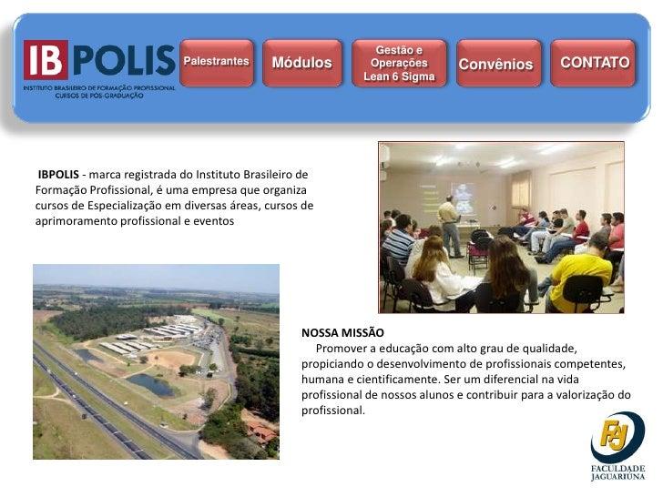 Gestão e                             Palestrantes     Módulos            Operações        Convênios           CONTATO     ...