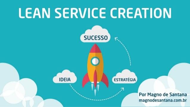 Lean Service Creation