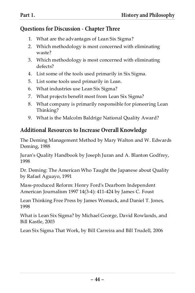 six sigma body of knowledge pdf