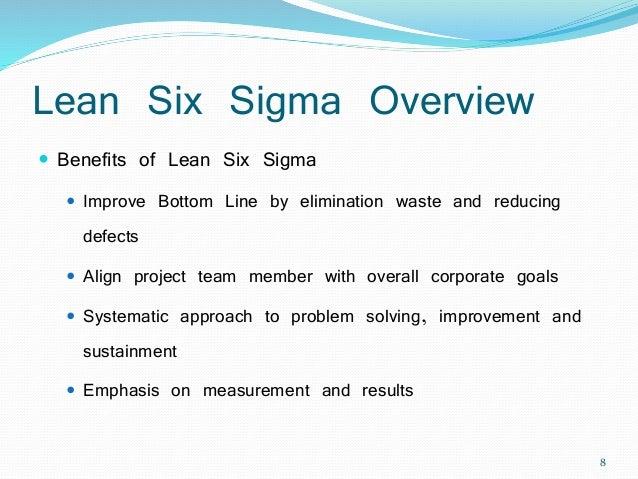 Lean six sigma - Waste elimination (Yellow Belt)