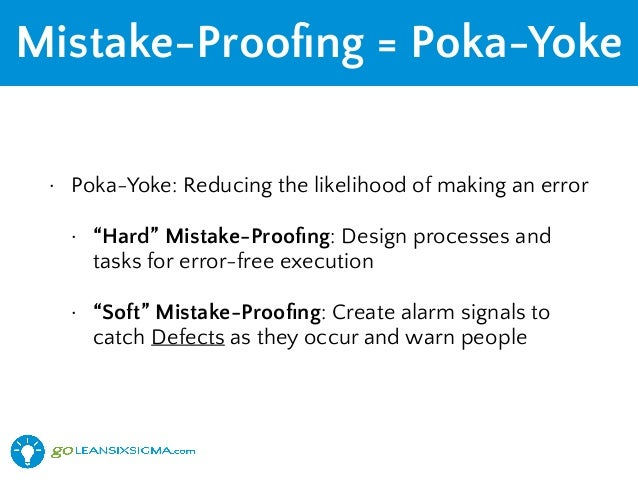 lean-six-sigma-mistake-proofing-goleansi
