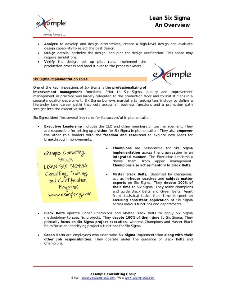 an overview of the four key strategies of lean six sigma Here you will find a wealth of information to help answer your most pressing questions about continuous improvement, statistical quality control, lean six sigma, fmea, mistake-proofing and much more please use and share these resources for your personal use, but be sure to credit qualitytrainingportal as the source.