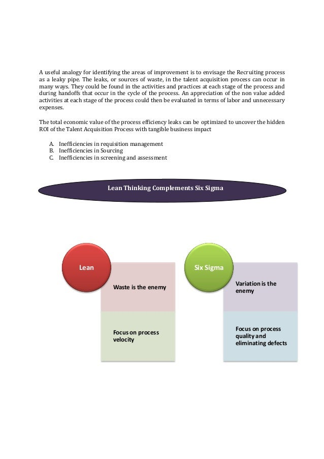 lean six sigma tools pdf