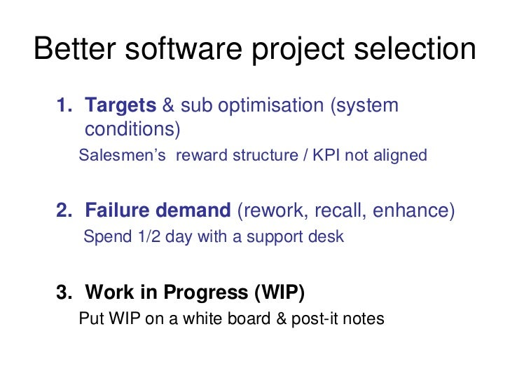software project management failure case study This blog post collects 14 scrum case studies  obviously ken's book agile project management with  at the least a case study of how the scrum software team.