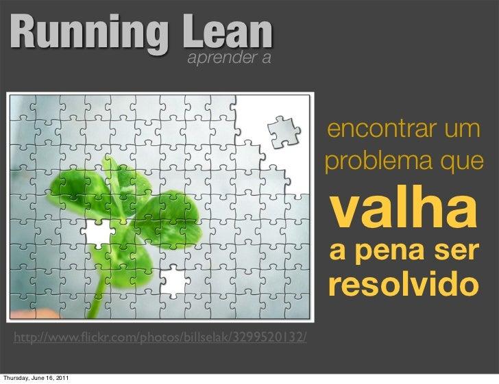 Running Lean                   aprender a                                                       encontrar um              ...