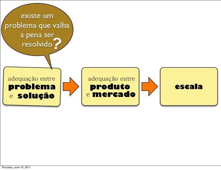 existe um  problema que valha      a pena ser       resolvido          ?     adequação entre          adequação entre     ...