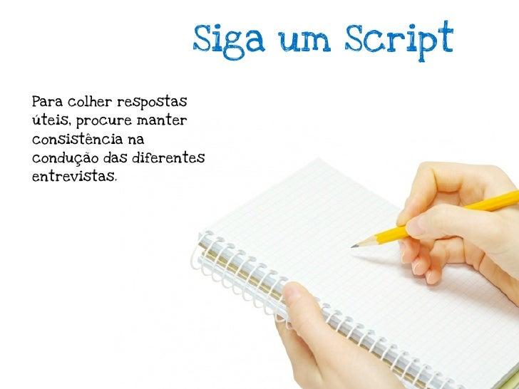 """Refine os problemasSe você receber umforte """"don't need"""" tire oproblema do seu script.De forma semelhantese você descobrir ..."""