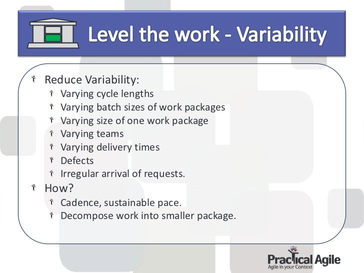 A system to manage work.A pull system focusing on visibility.A system to help limit the WIP.Focus on speed (Cycle time)Not...