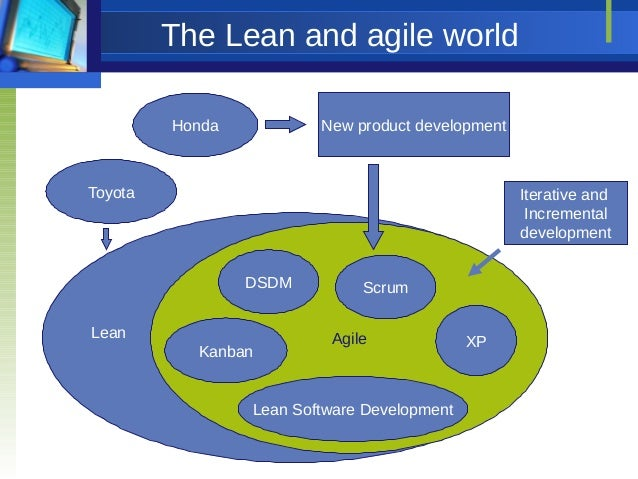 Lean thinking and the agile culture