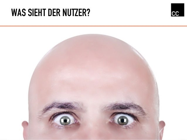 WAS SIEHT DER NUTZER?