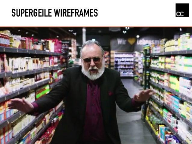 SUPERGEILE WIREFRAMES