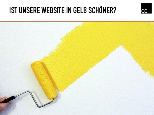 IST UNSERE WEBSITE IN GELB SCHÖNER?