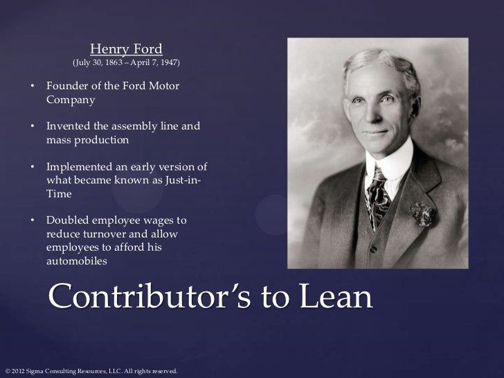 Frederick Motor Company >> Demystifying Lean: Going to Gemba