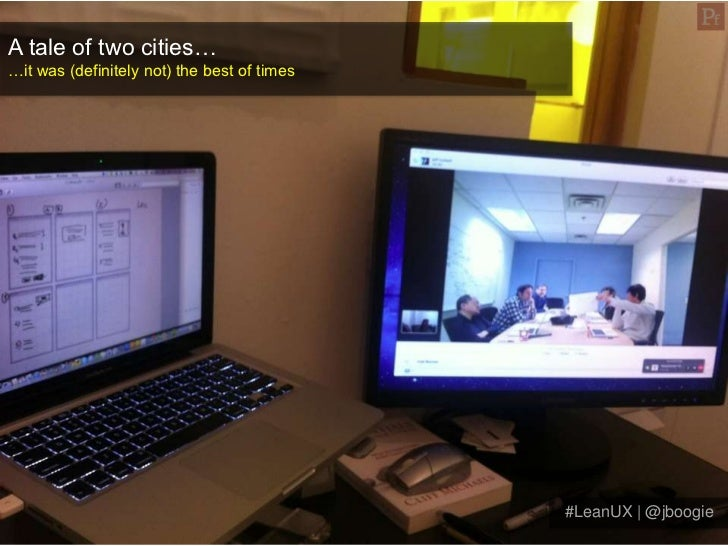 Lean UX: Building a shared understanding to get out of the deliverables business Slide 2