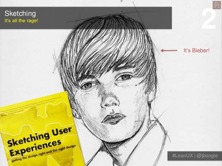 SketchingIt's all the rage!                                 2                         It's Bieber!                     #Le...