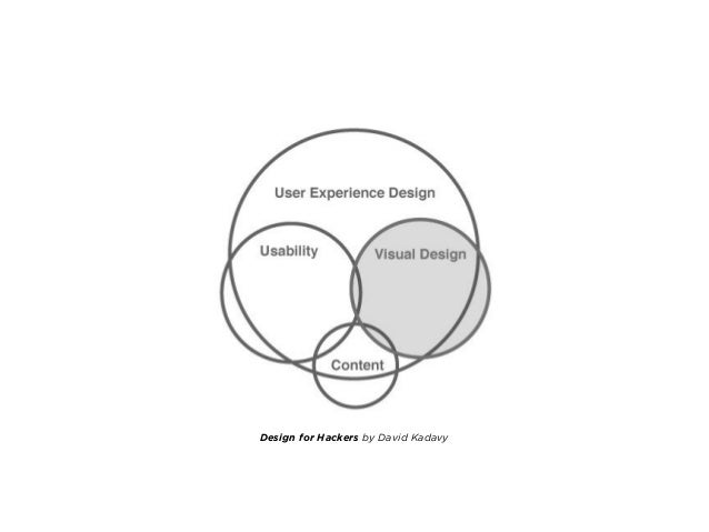 ― David Kadavy, Design for Hackers: Reverse Engineering Beauty The user experience design of a product essentially lies be...