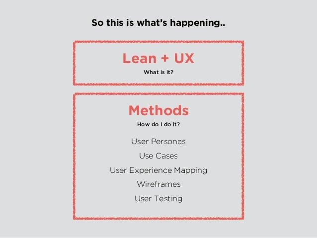 Lean Methodology is.. fat-free.