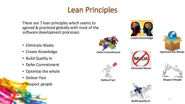 Lean Software Development: Values and Principles