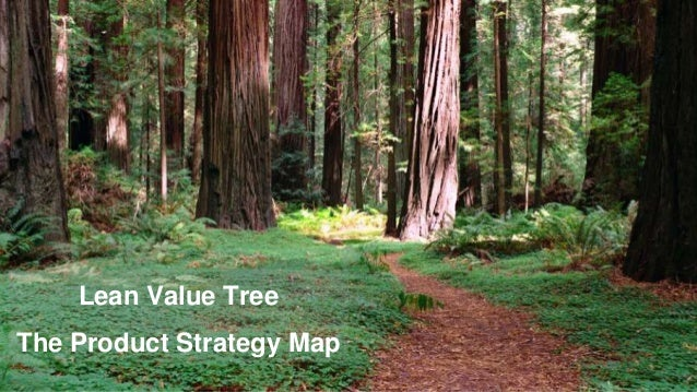 Lean Value Tree The Product Strategy Map