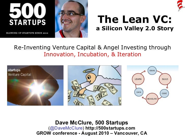 The Lean VC: a Silicon Valley 2.0 Story