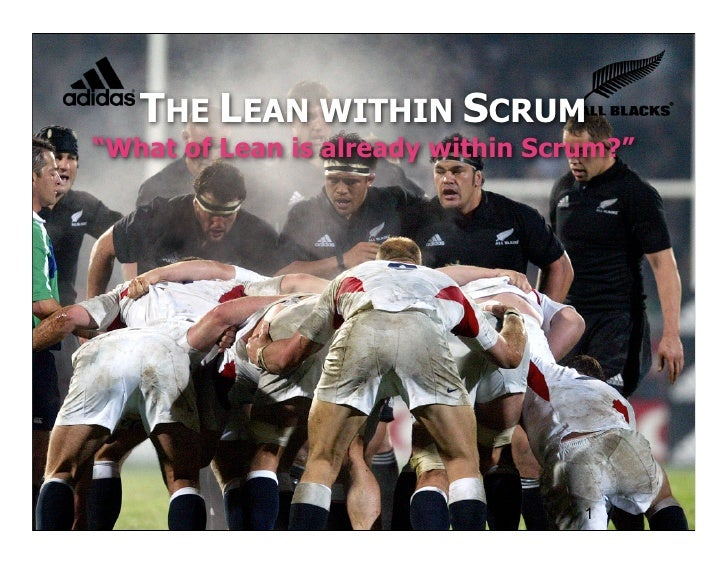 "THE LEAN WITHIN SCRUM""What of Lean is already within Scrum?""                         © Joe Little 2009                    ..."