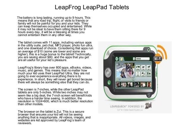 Leap Frog Leappad Ultra Tablet