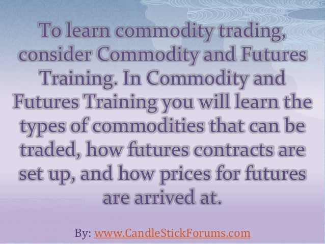 Learn futures trading the smart way! - YouTube
