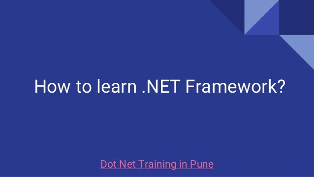 How to Learn .NET: 11 Steps (with Pictures) - wikiHow