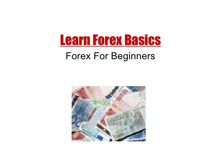 Forex technical analysis for beginners
