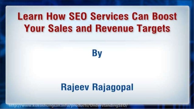 Learn How SEO Services Can Boost Your Sales and Revenue Targets Slide 2