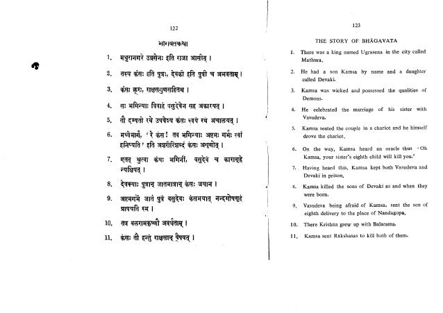 Learn Sanskrit in 30 days (Sanskrit through English