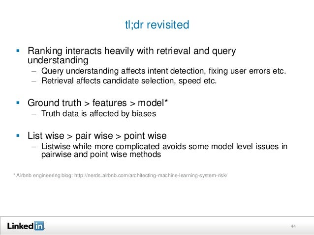 """Useful references   """"From RankNet to LambdaRank to  LambdaMART: An overview"""" – Christopher  Burges   """"Learning to Rank f..."""