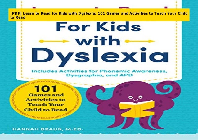 PDF] Learn to Read for Kids with Dyslexia: 101 Games and Activities …
