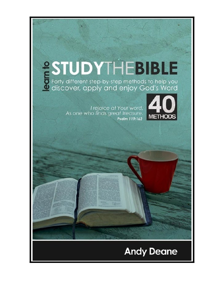 LEARN TO STUDY THE BIBLE - CHAPTER 6          Daily Bread Bible Study (Sample Chapter) The Lord sustained His people for f...